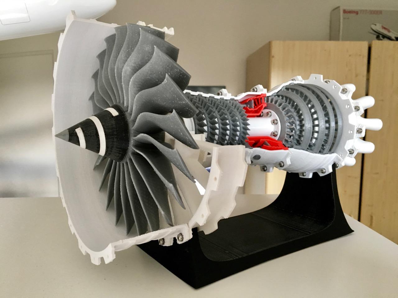 3D printed Turbofan Engine   Paul Wiedenmann